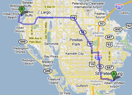 What Is The Closest Airport To Clearwater Beach Florida